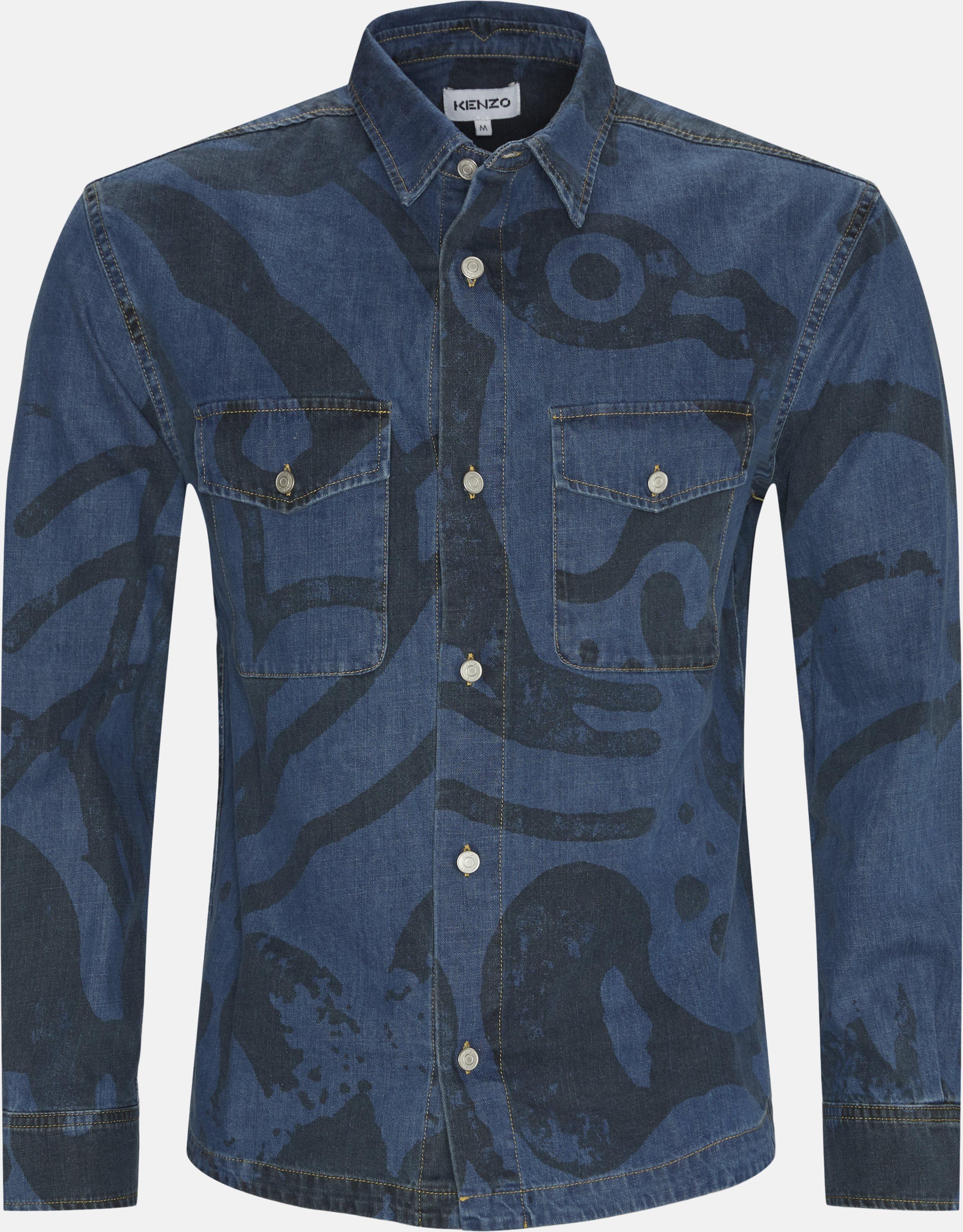 Tiger Denim Overshirt - Skjorter - Regular - Denim