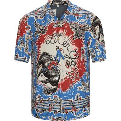 SS Shirt Regular fit | SS Shirt | Blå