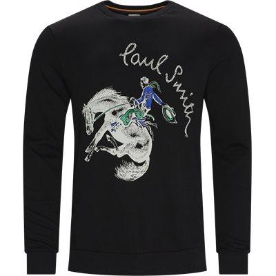 Crewneck Sweatshirt Regular fit | Crewneck Sweatshirt | Sort