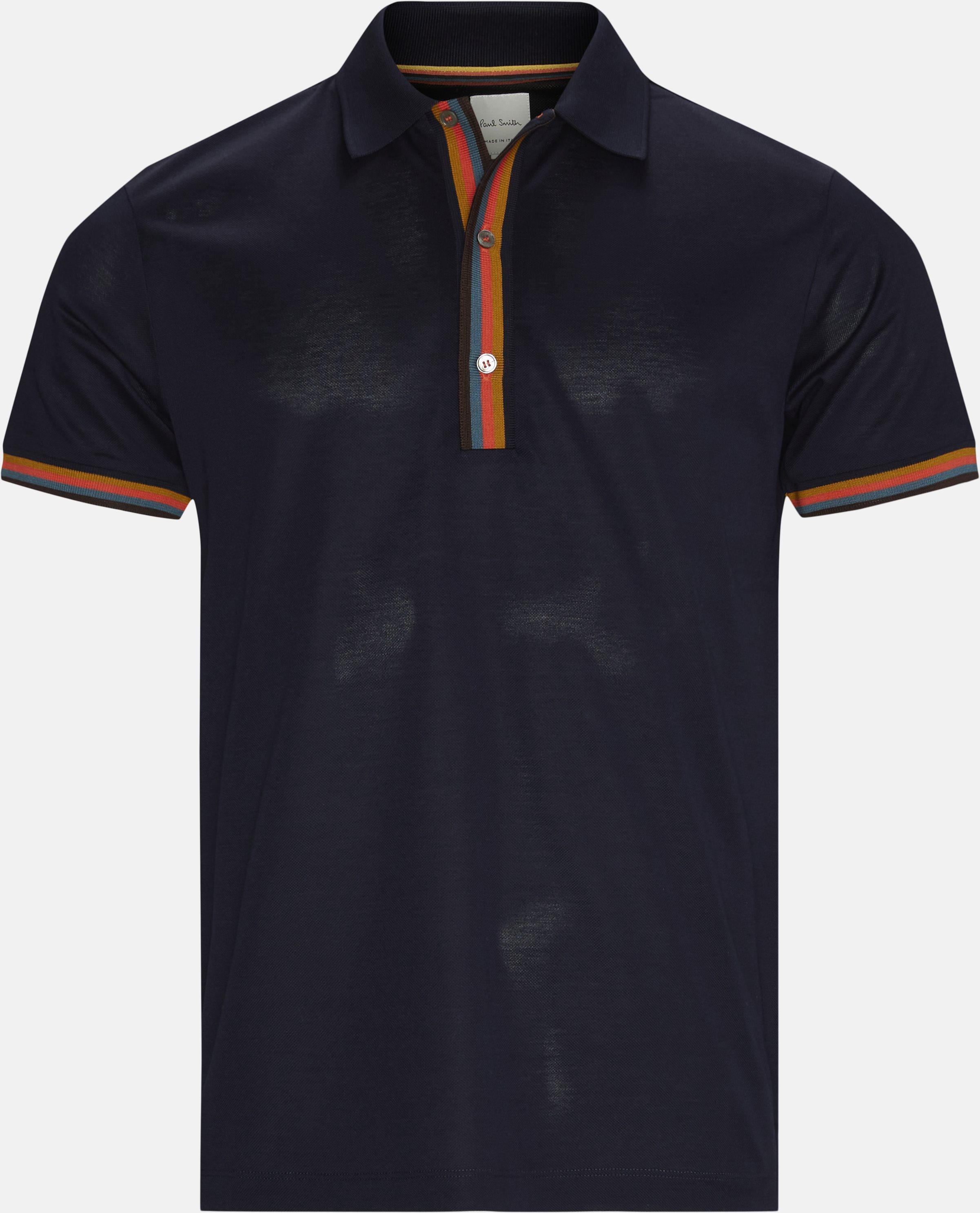 Polo T-shirt - T-shirts - Regular fit - Blå
