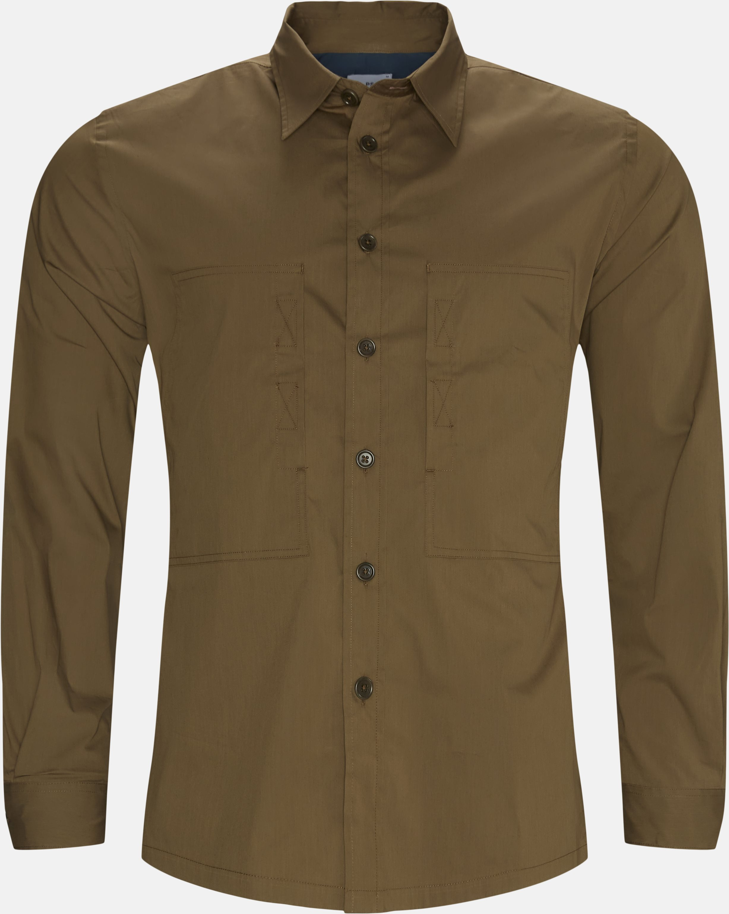 Casual Fit Shirt - Skjorter - Casual fit - Army