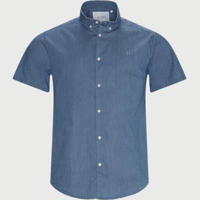 Regular fit | Kurzärmlige Hemden | Jeans-Blau