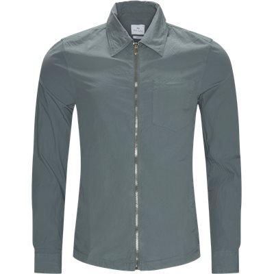 Zip Shirt Regular fit   Zip Shirt   Blå
