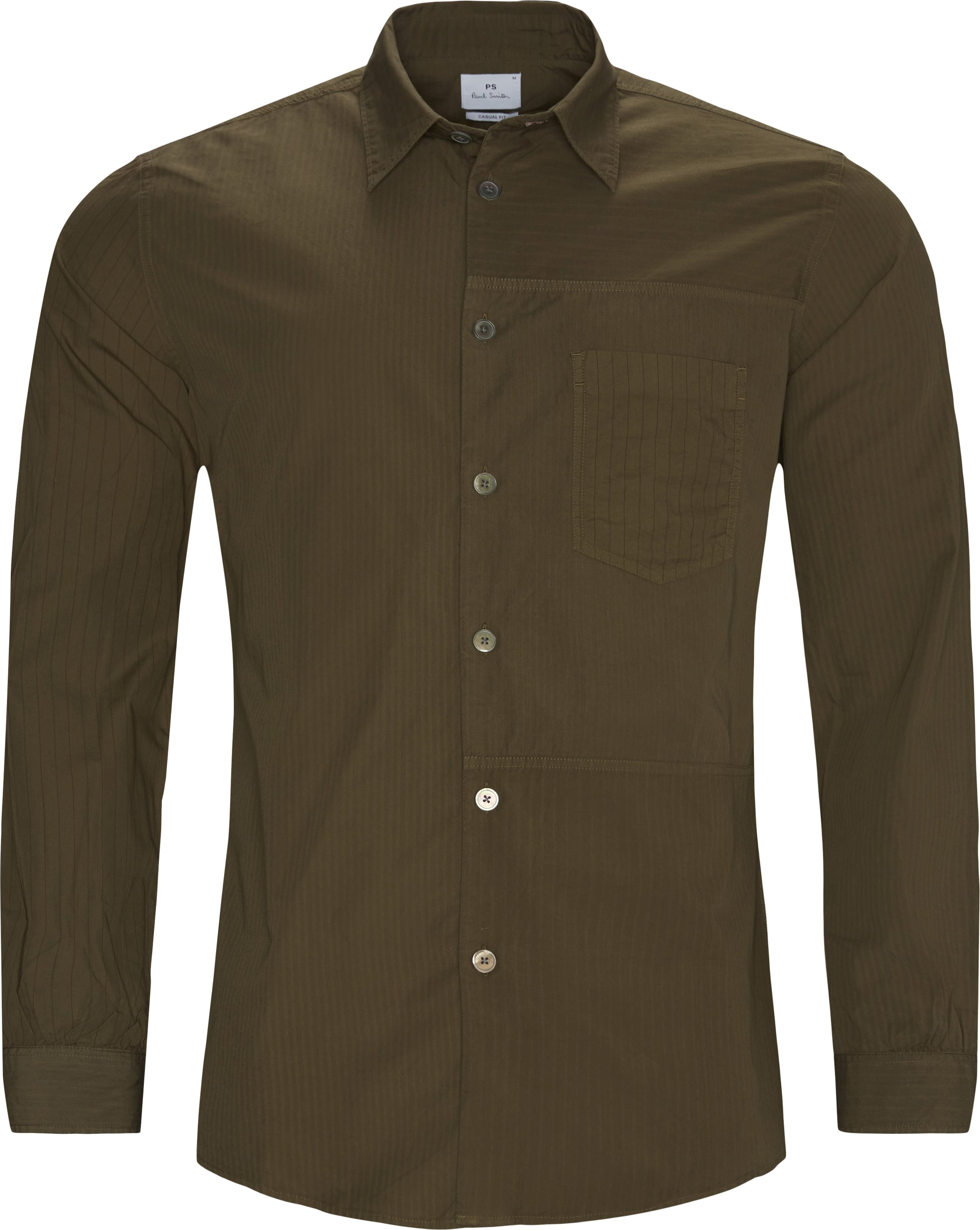 Casual Fit Shirt - Skjorter - Casual fit - Sand