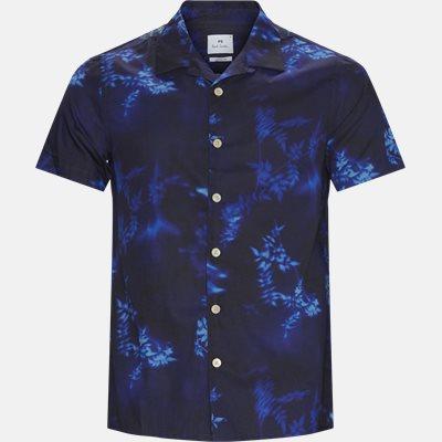 Casual Fit SS Shirt Casual fit | Casual Fit SS Shirt | Blå