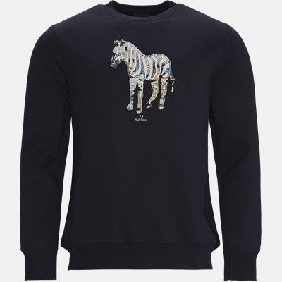 Zebra Sweatshirt Regular fit | Zebra Sweatshirt | Blå