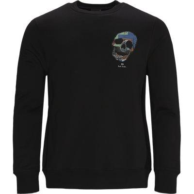 Skull Sweatshirt Regular fit | Skull Sweatshirt | Sort
