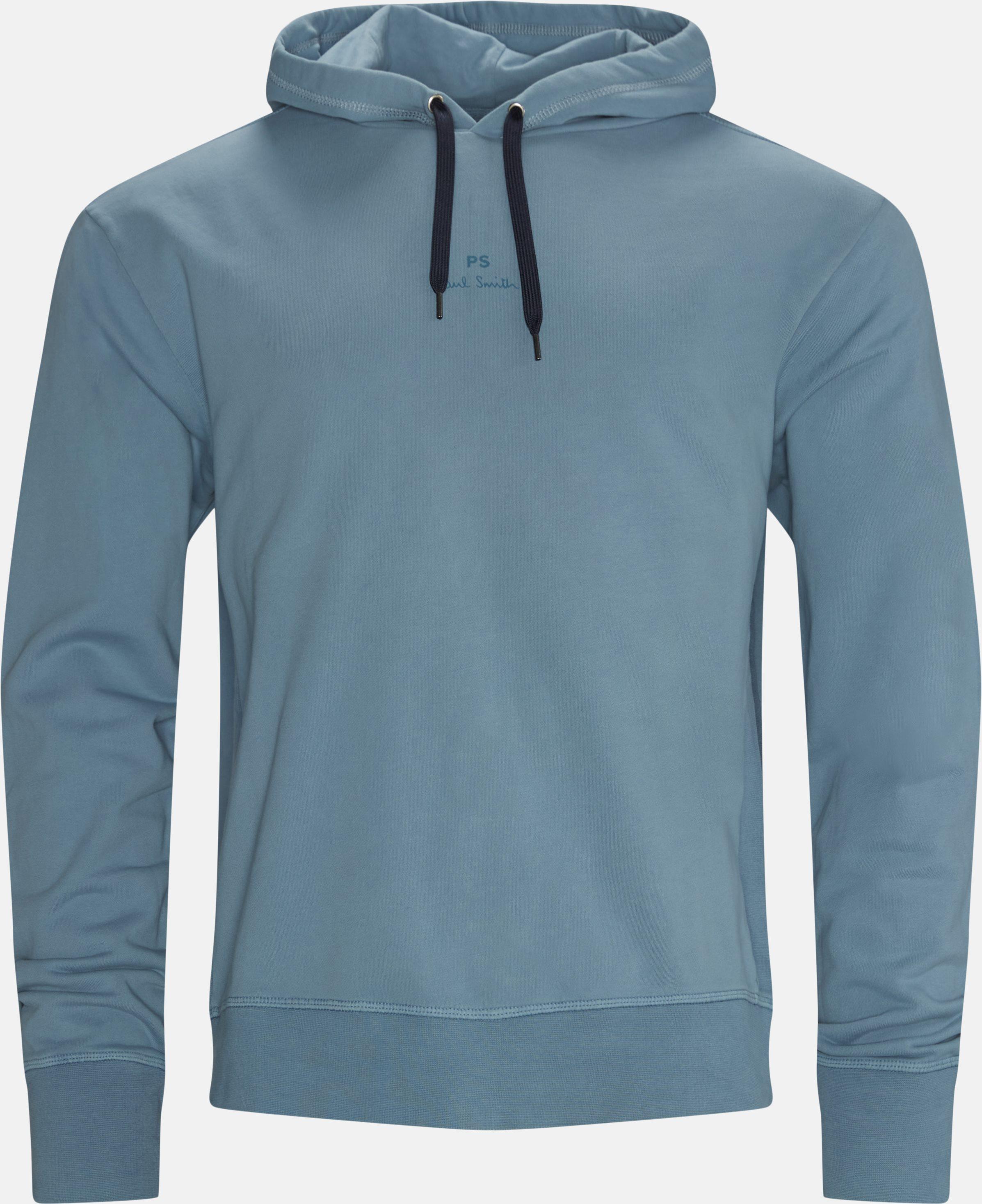 Logo Hoodie - Sweatshirts - Regular fit - Blå