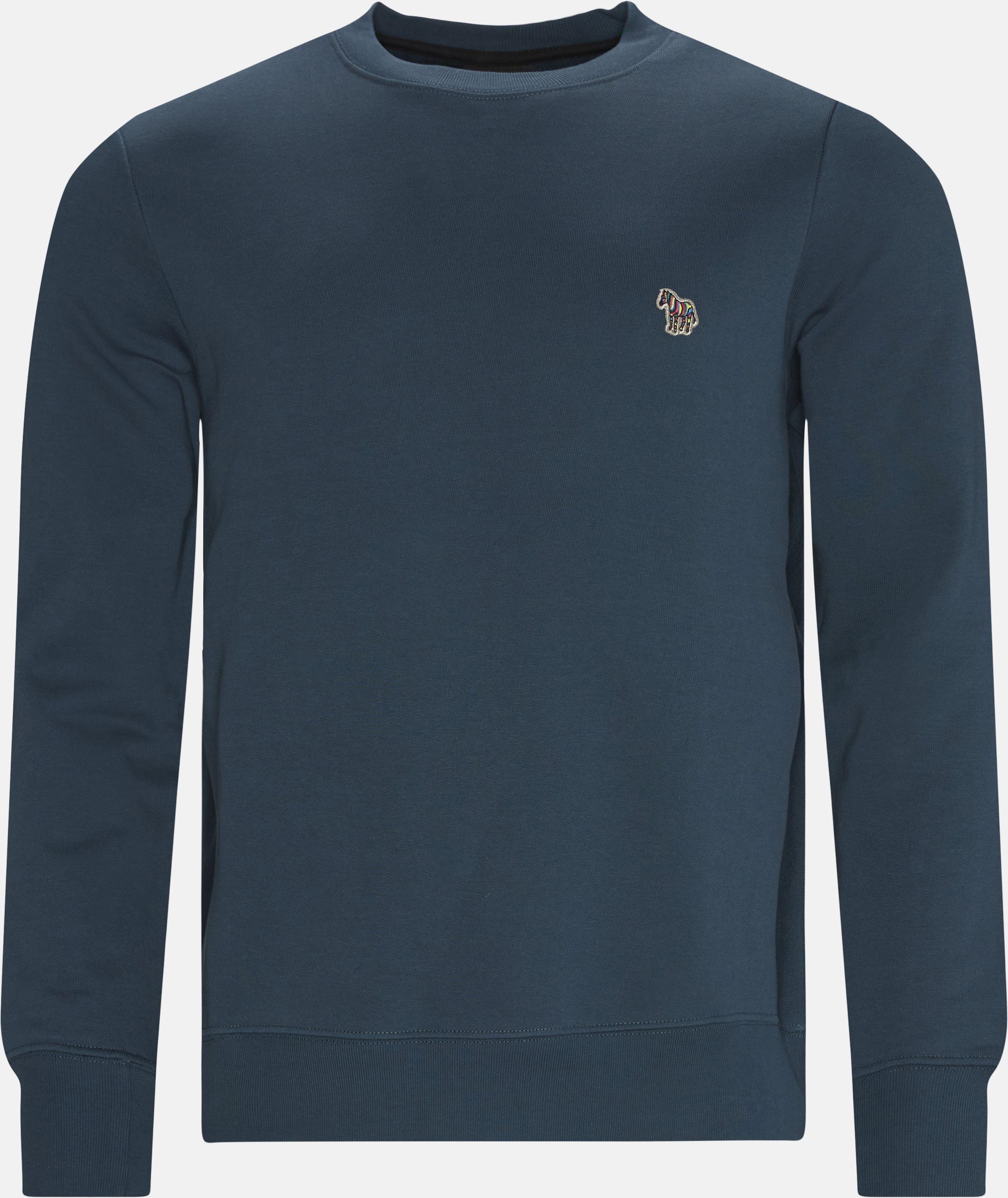 Crewneck Sweatshirt - Sweatshirts - Regular fit - Blå