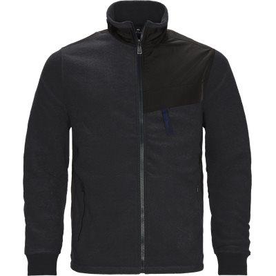 Zip Fleece Regular fit | Zip Fleece | Grå