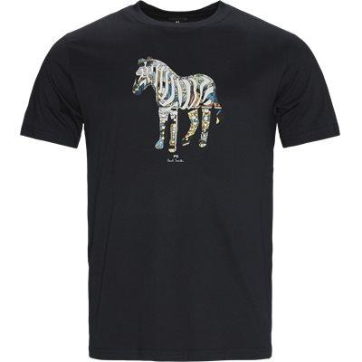 Multi Zebra Tee Regular fit | Multi Zebra Tee | Blå