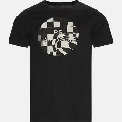 Chequered Chess Tee Regular fit | Chequered Chess Tee | Sort
