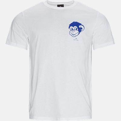 Blue Monkey Tee Regular fit | Blue Monkey Tee | Hvid