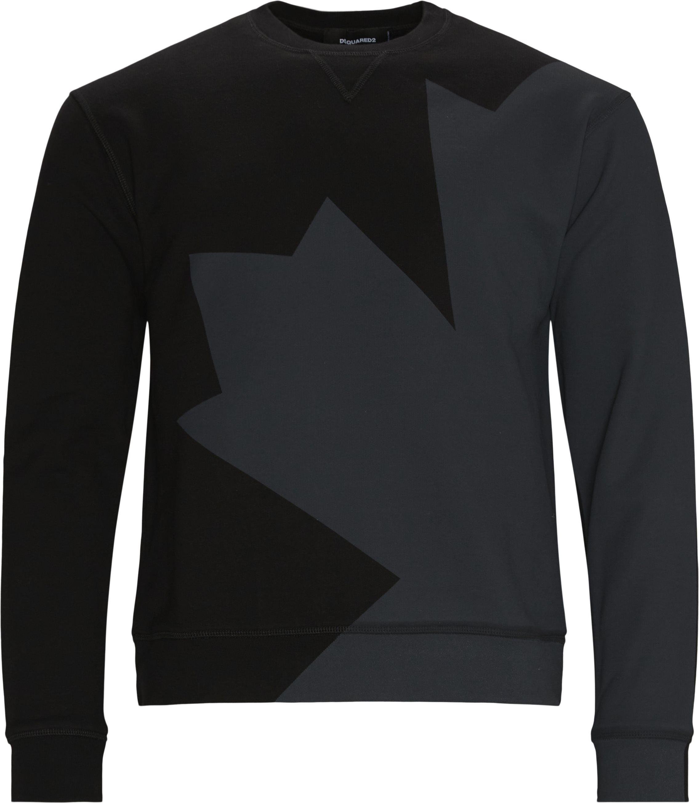 Crewneck Sweat - Sweatshirts - Regular fit - Sort