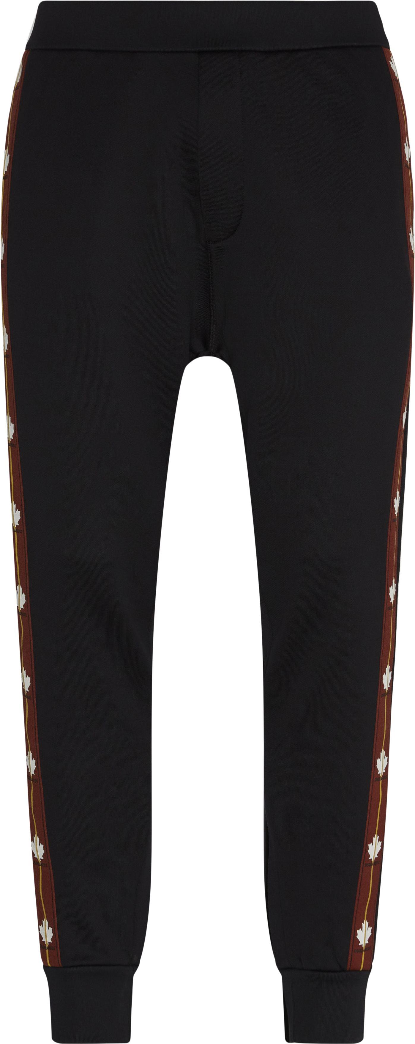 Trackpants - Bukser - Regular fit - Sort