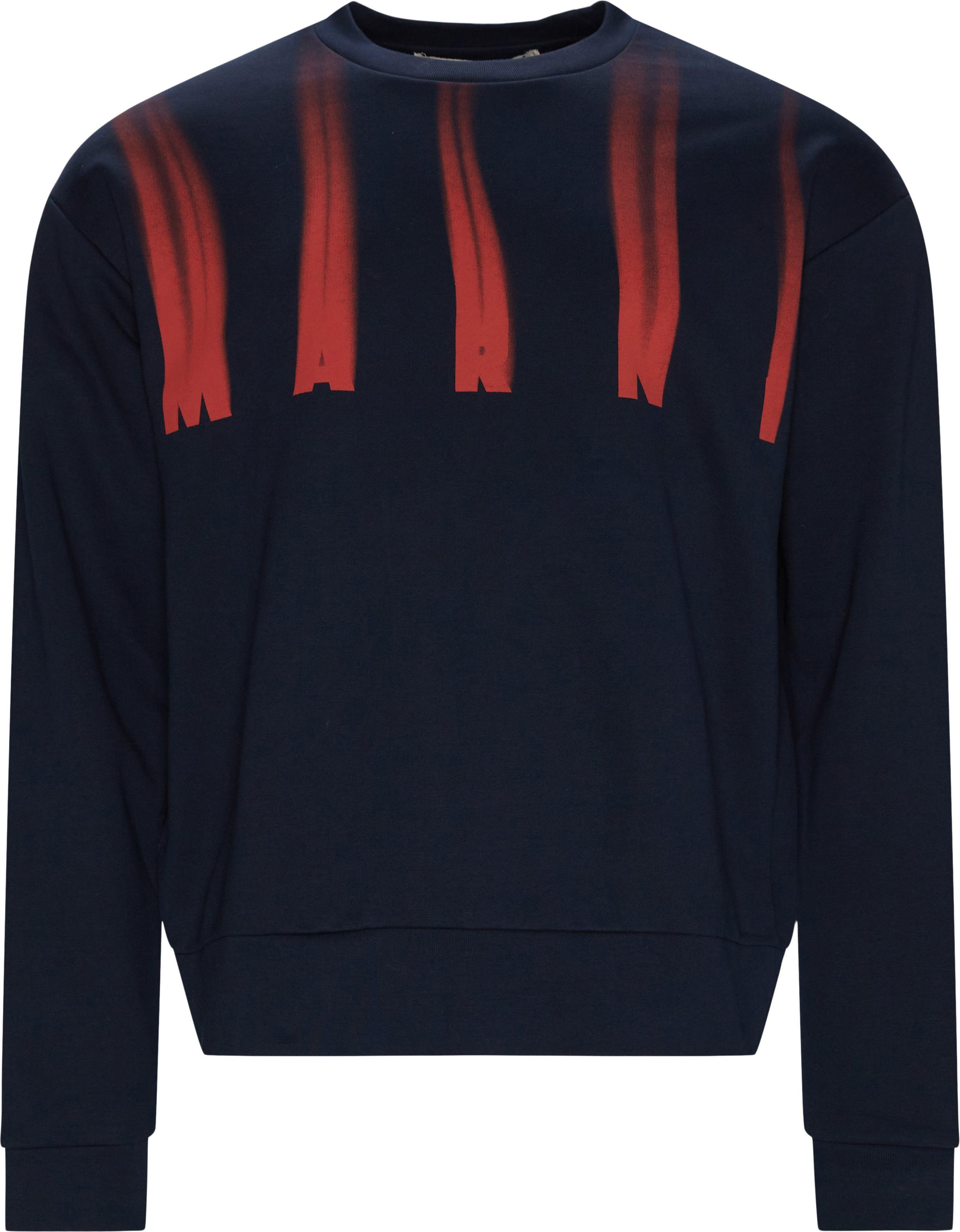 Logo Crewneck - Sweatshirts - Loose fit - Blå