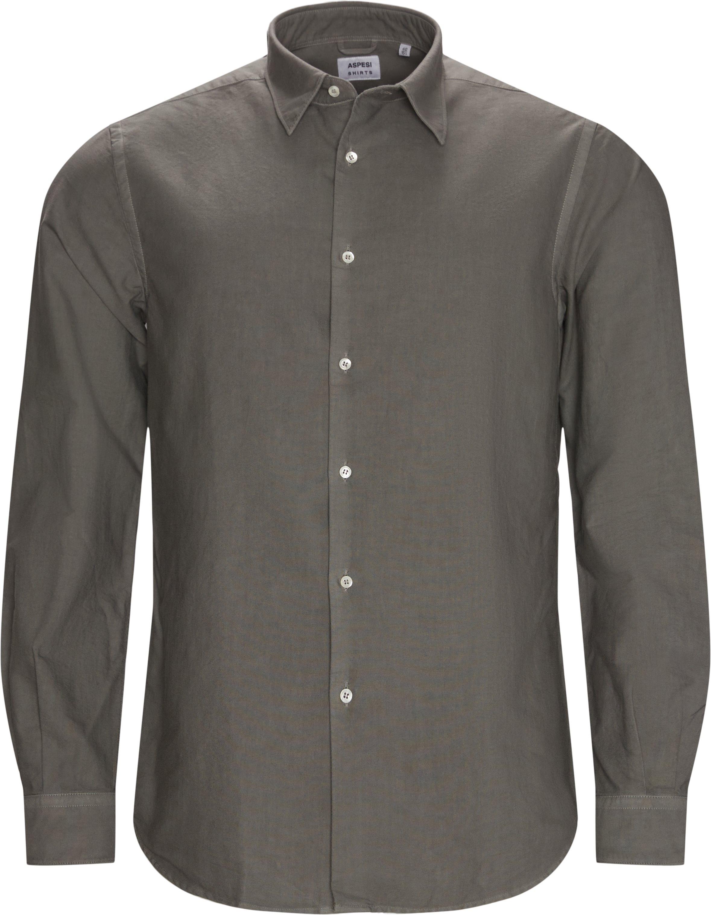 Classic Shirt - Skjorter - Grå