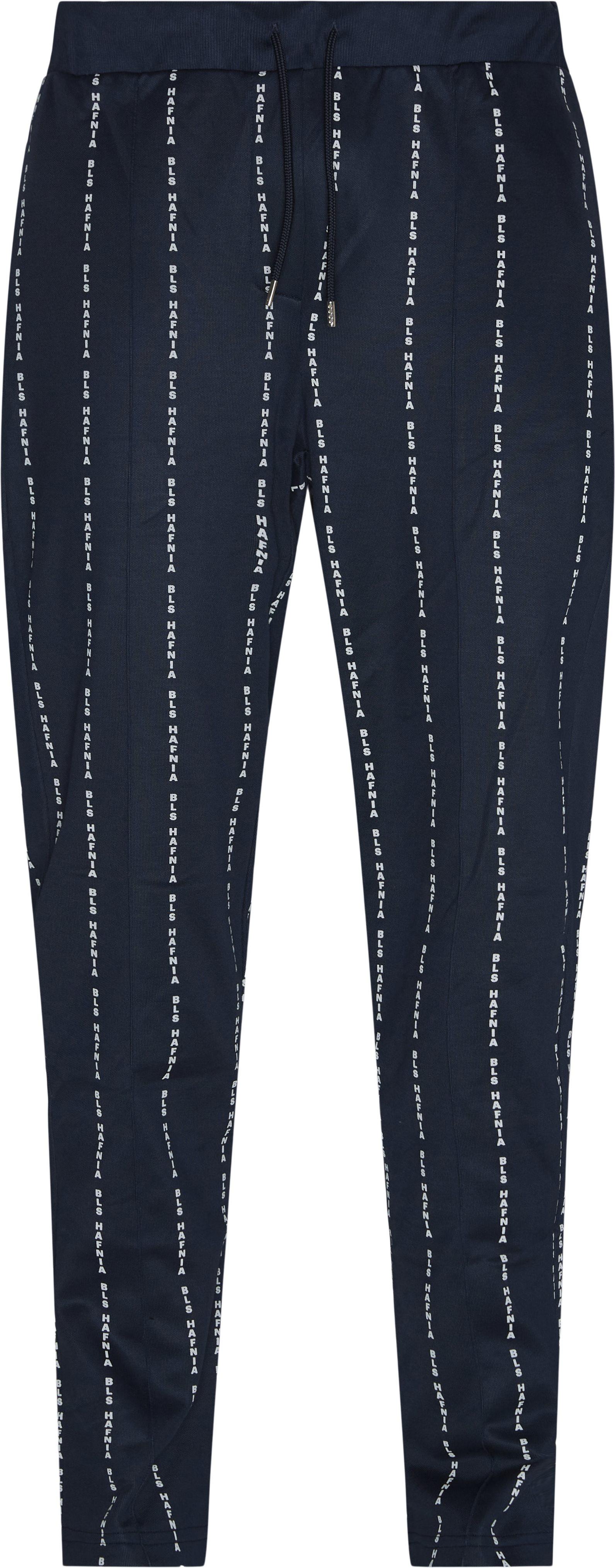 Trousers - Regular fit - Blue