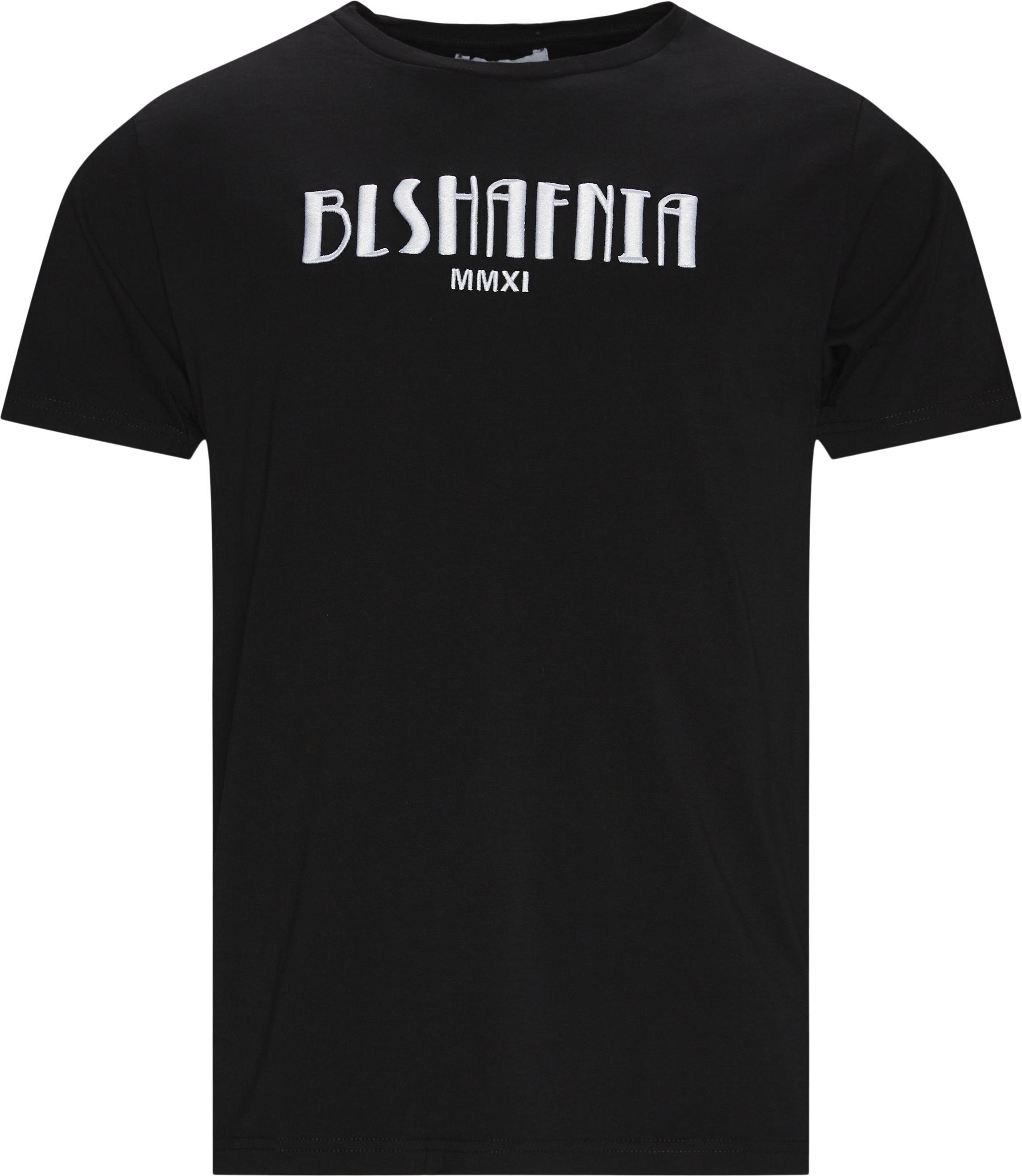 Casablanca T-shirt - T-shirts - Regular fit - Sort