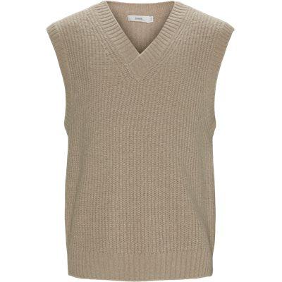 Knitted Vest Regular fit | Knitted Vest | Brun
