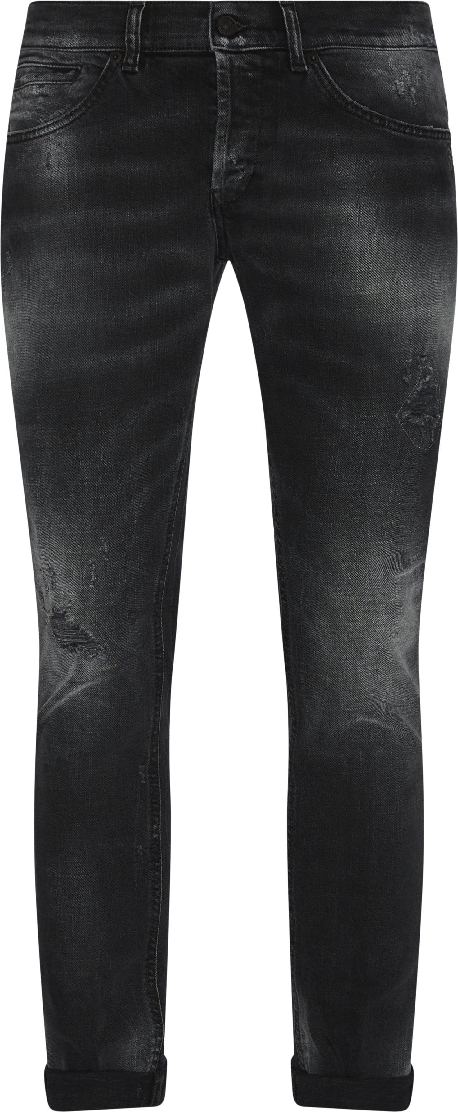George Jeans - Jeans - Skinny fit - Sort