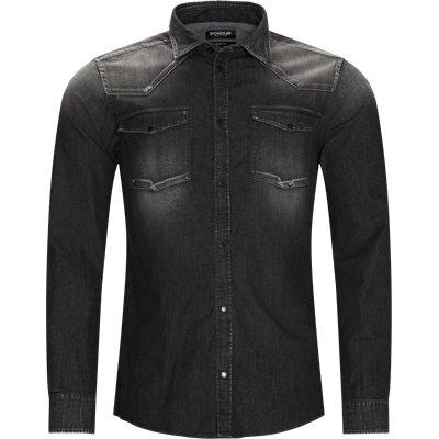 Slim fit | Shirts | Grey