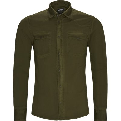 Denim Shirt Regular fit   Denim Shirt   Army