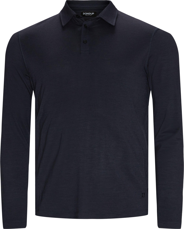 Long-sleeved t-shirts - Regular fit - Blue