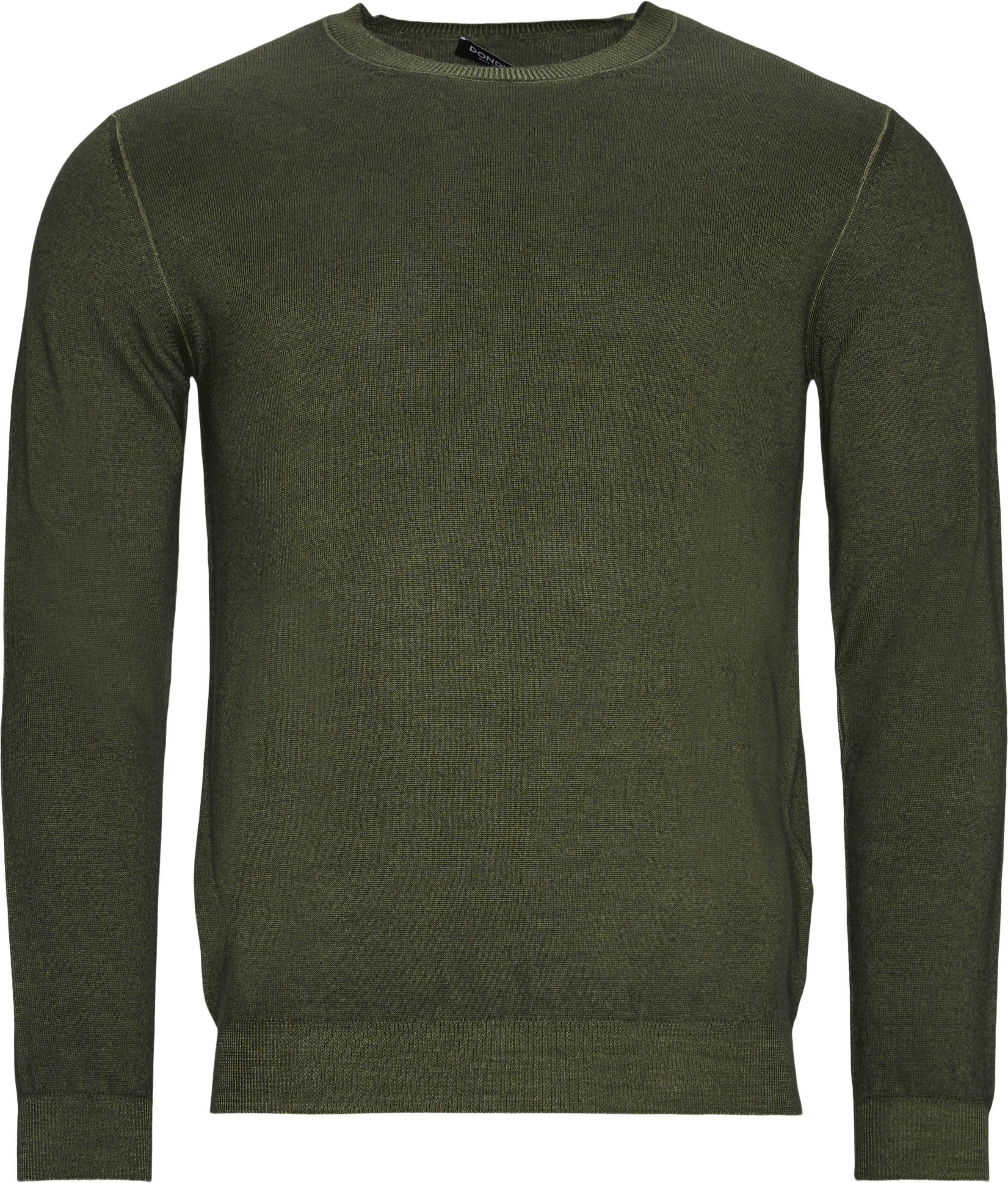 Classic Knit - Strik - Regular fit - Army
