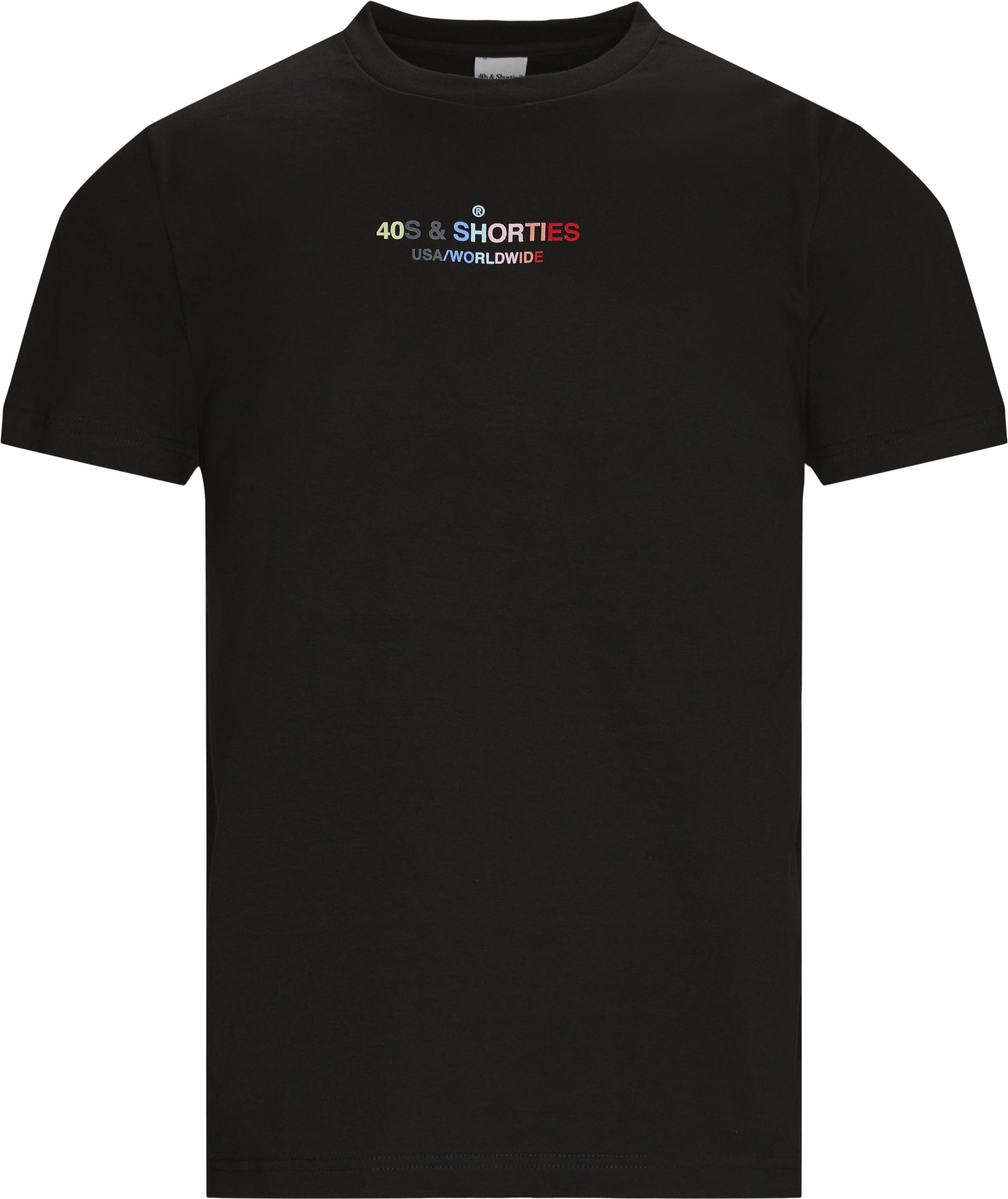 GENERAL TEXT LOGO T-shirt - T-shirts - Regular fit - Sort