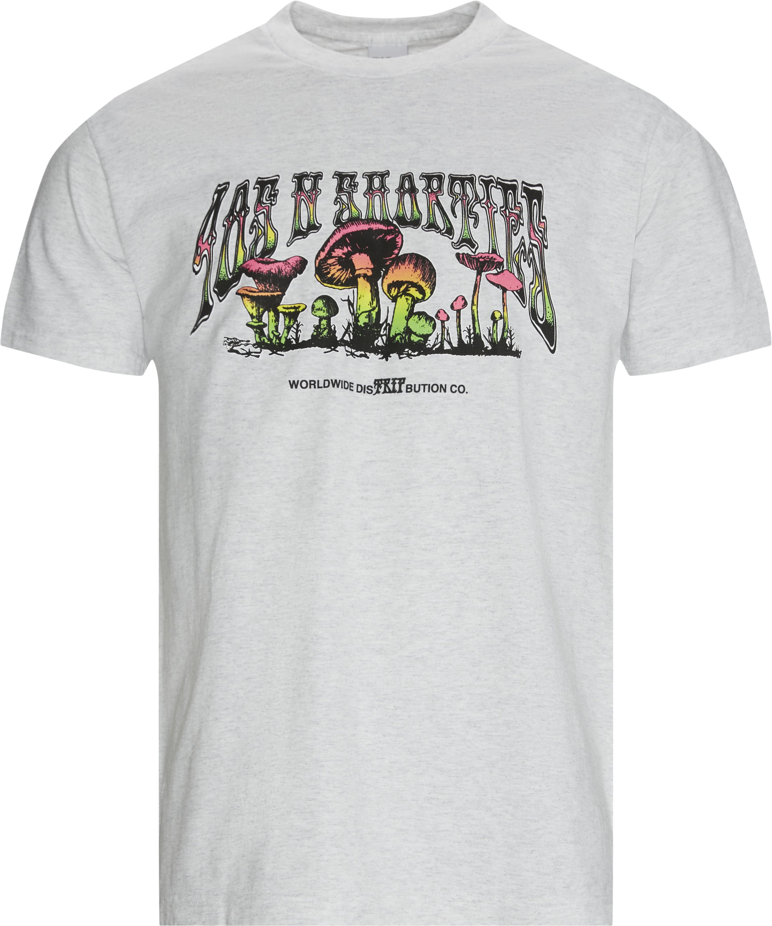 TRIP OUT T-shirt - T-shirts - Regular fit - Grå