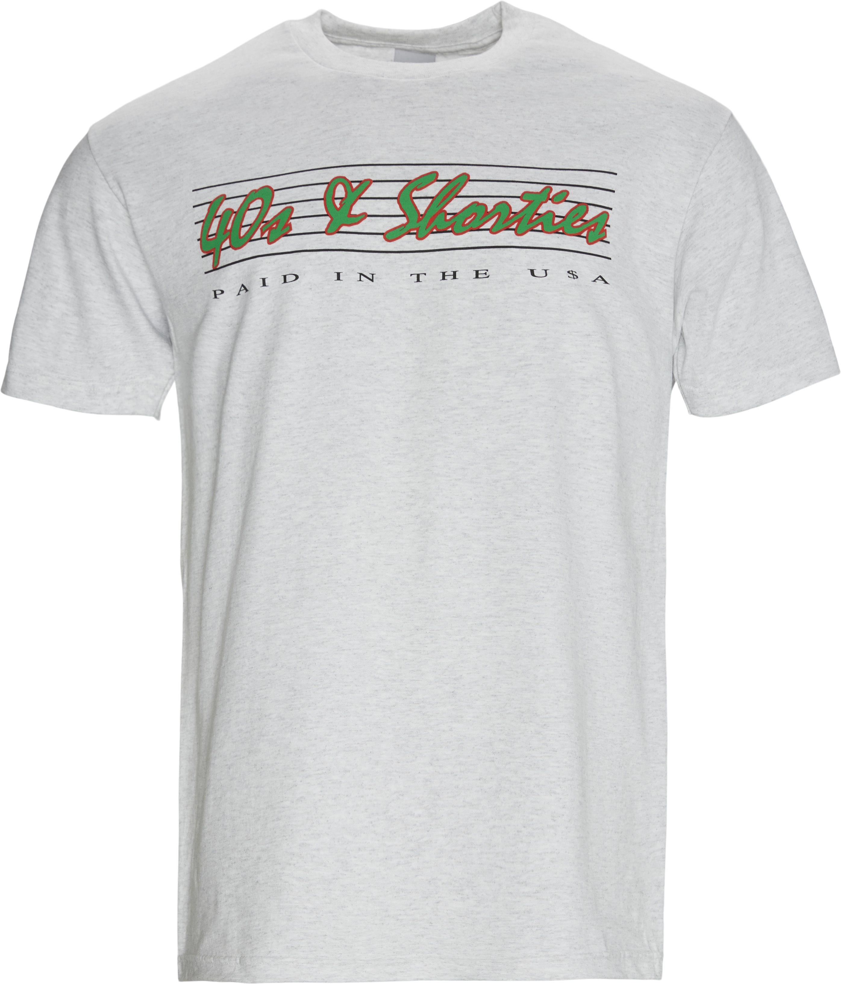 ERA T-shirt - T-shirts - Regular fit - Grå