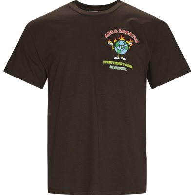 T-shirts | Brun