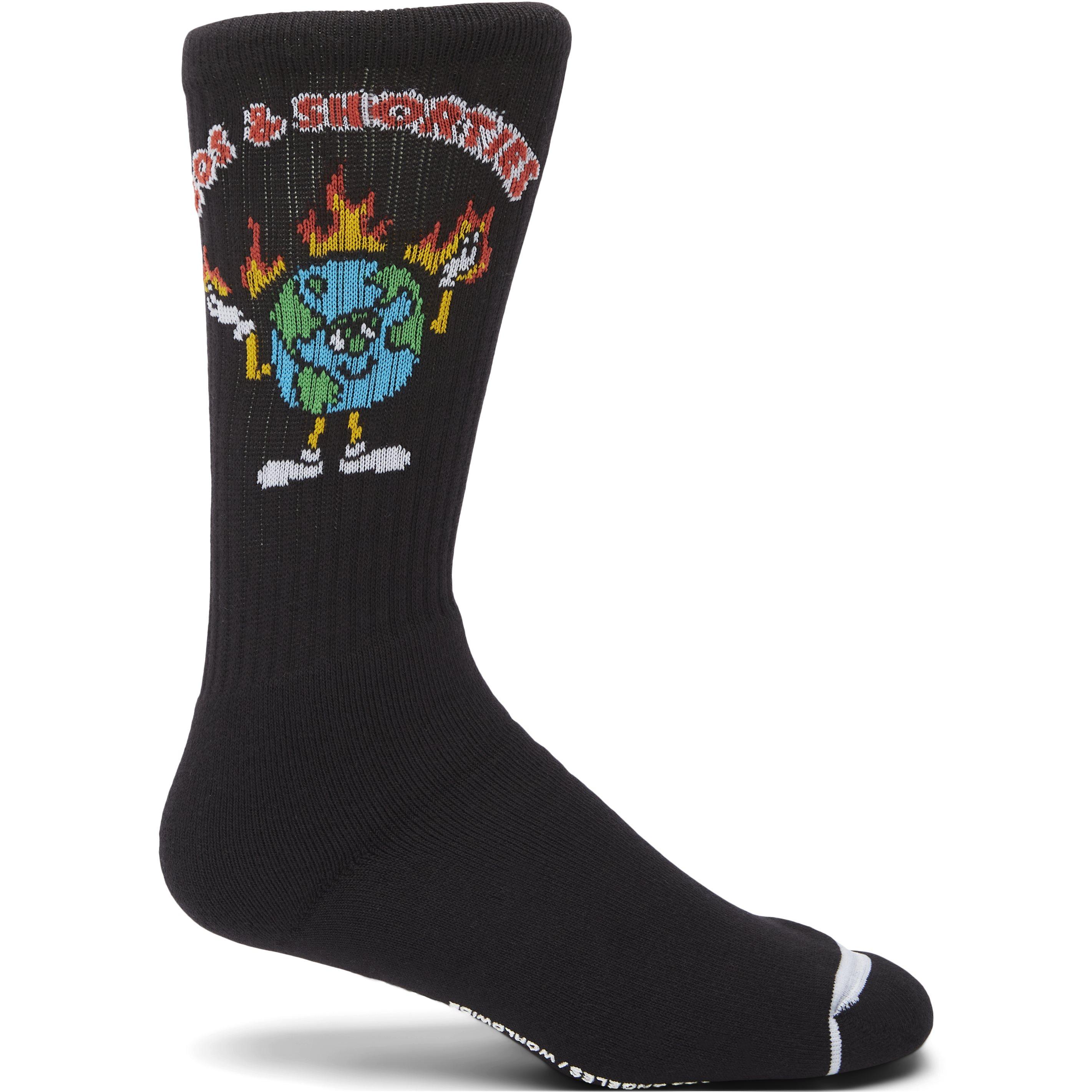 Be Alright Socks - Strømper - Sort