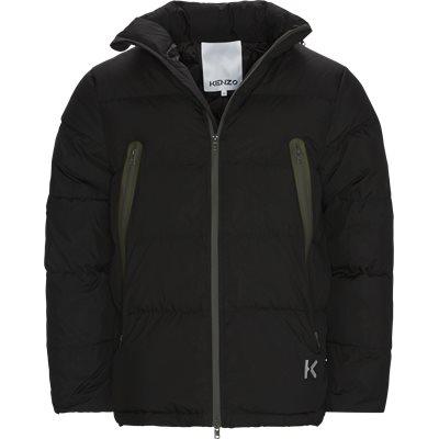 Puffer Jacket Regular fit | Puffer Jacket | Sort