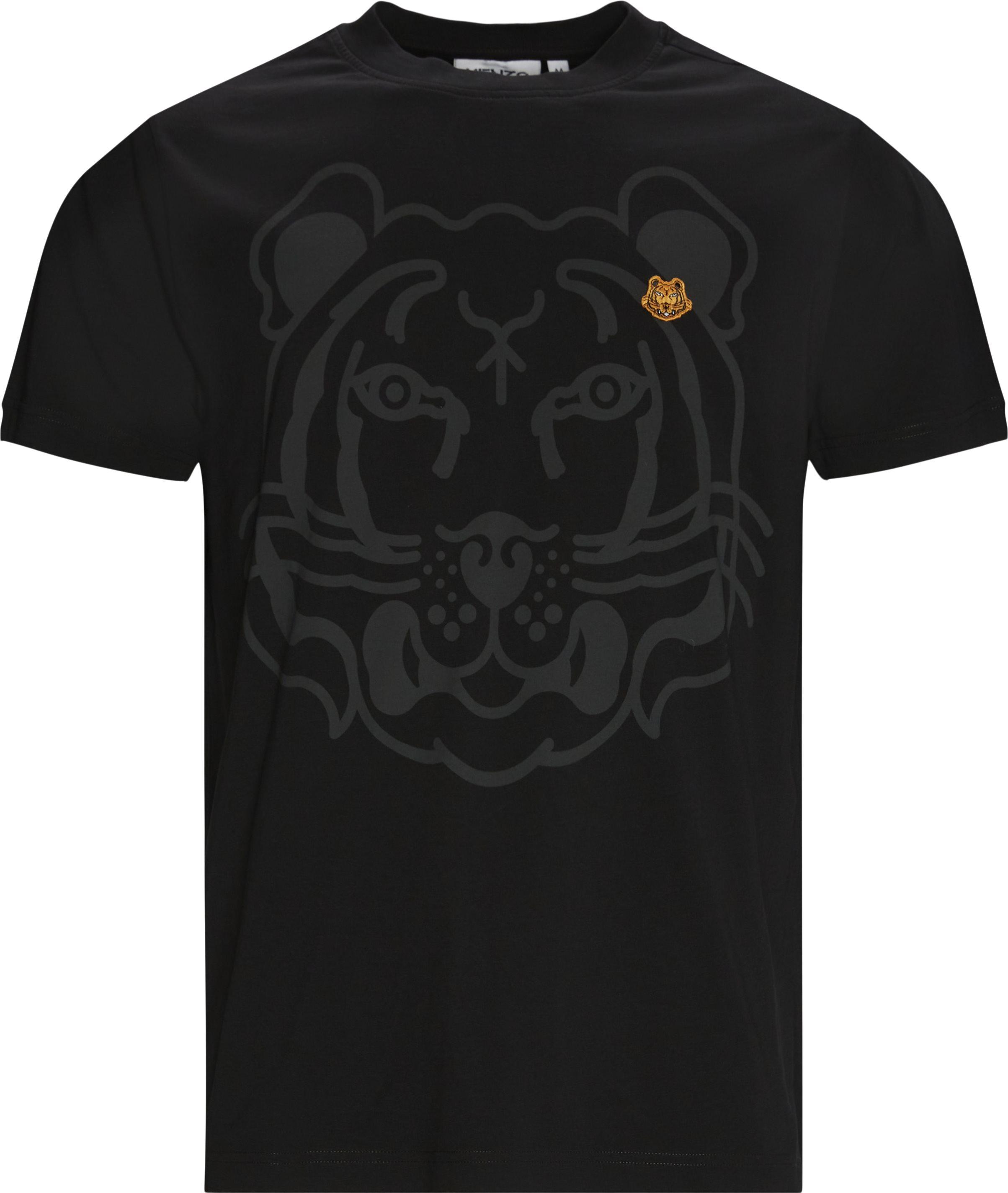 K-Tiger Tee - T-shirts - Oversize fit - Sort