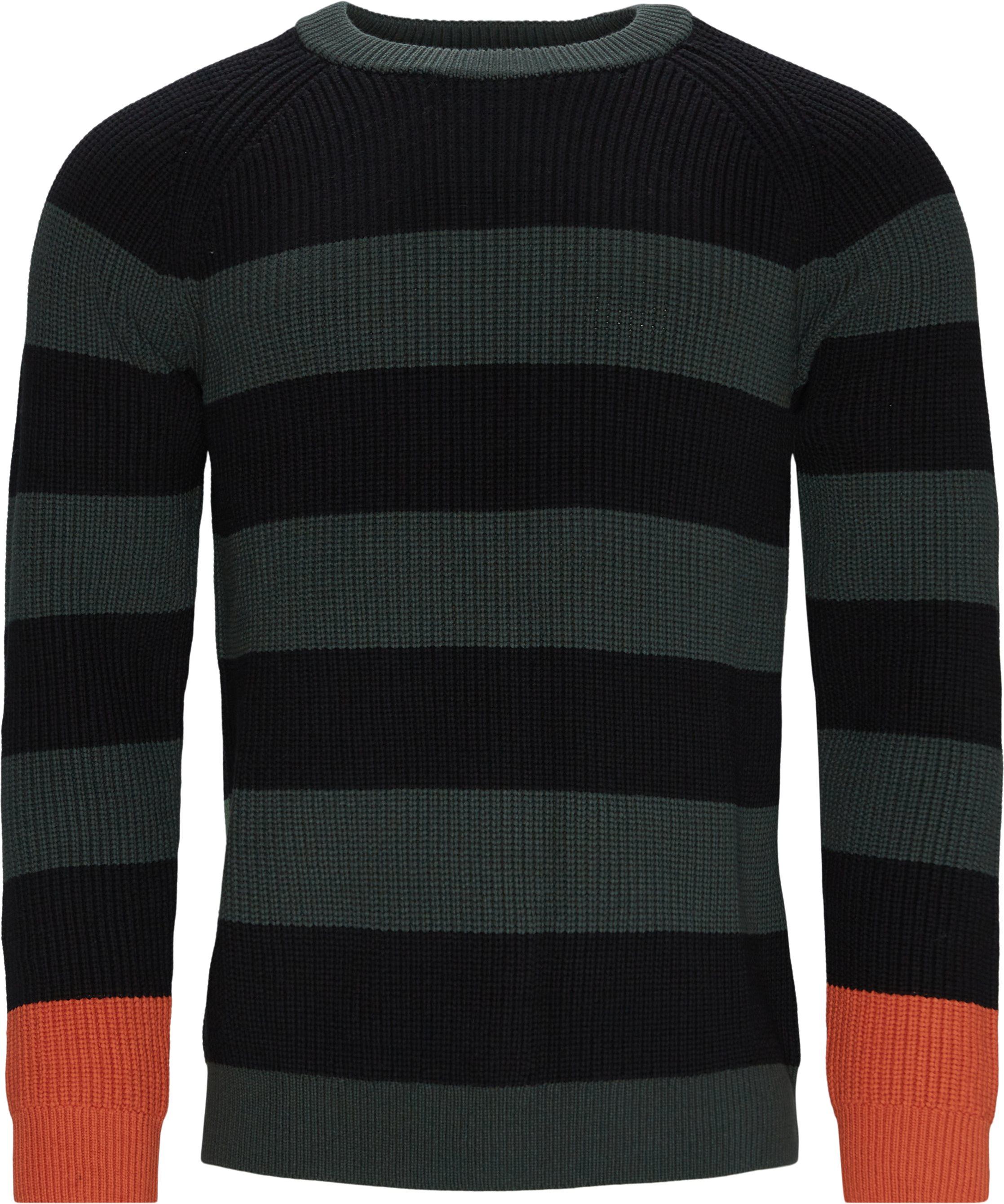 Knit - Strik - Regular fit - Blå