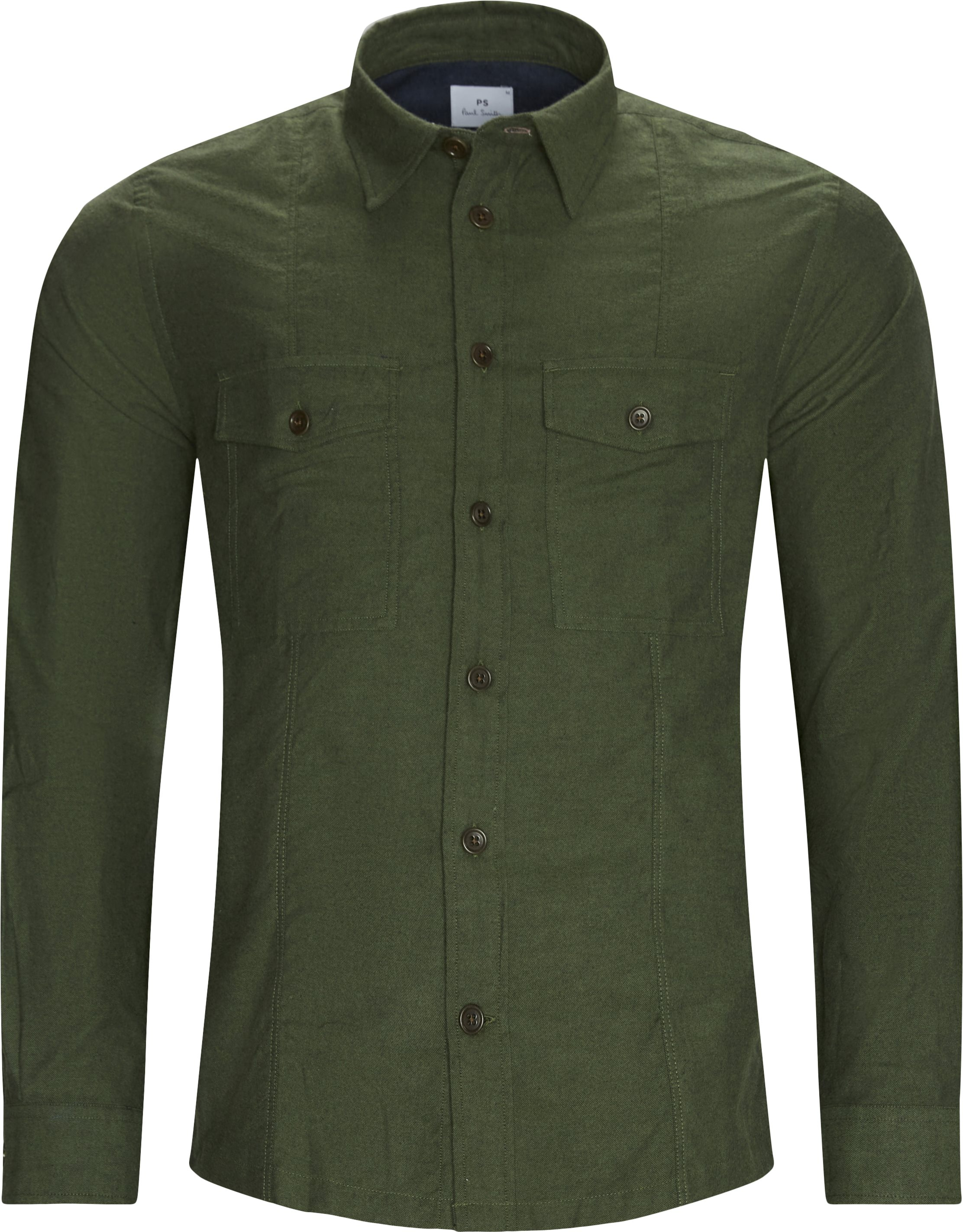Classic Shirt - Skjorter - Casual fit - Grøn