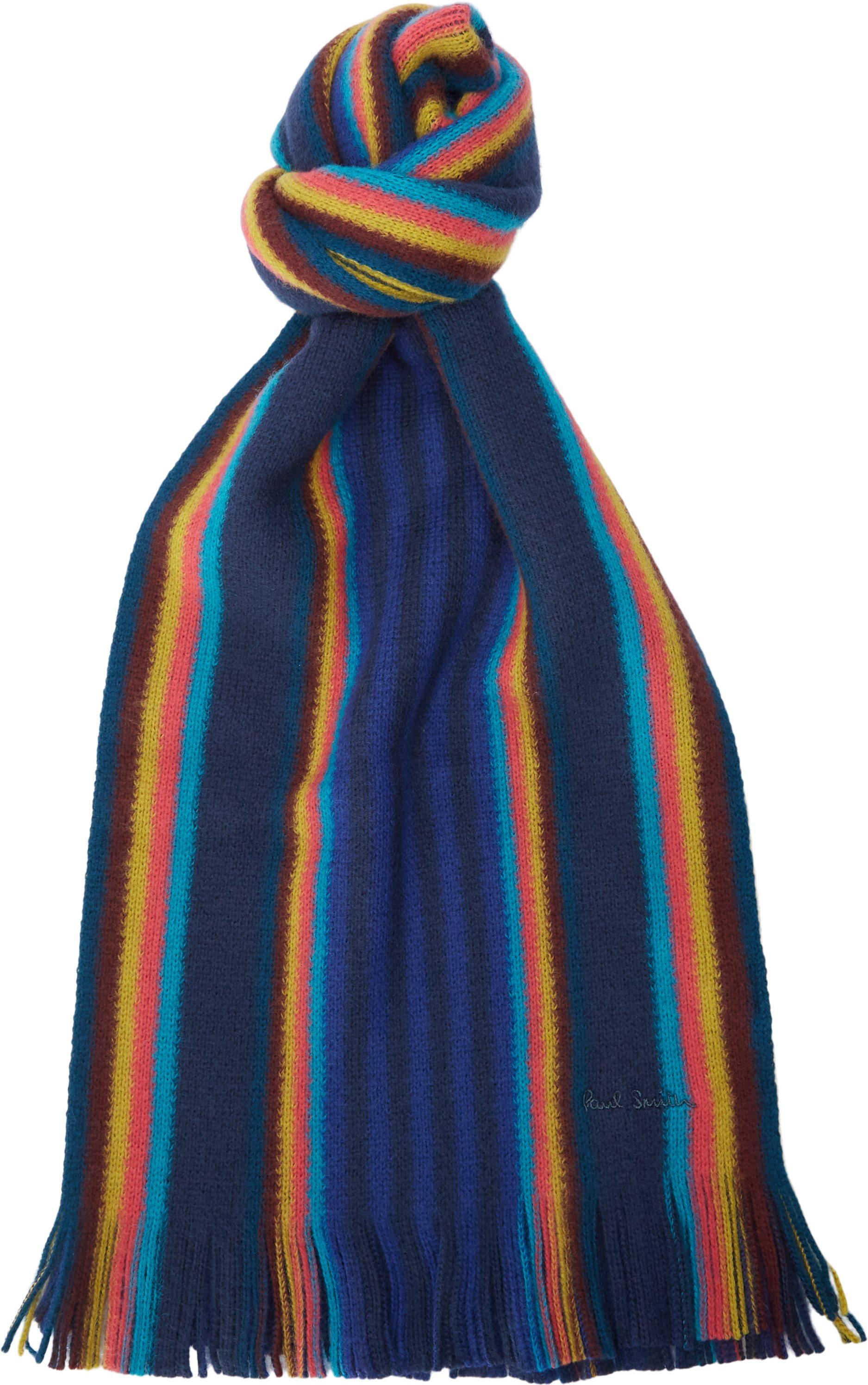 Scarf Two Block - Tørklæder - Blå