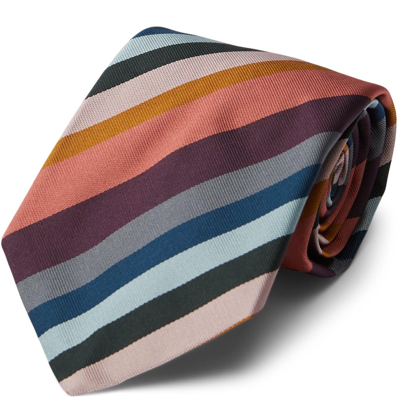 Stripe Tie - Slips - Multi