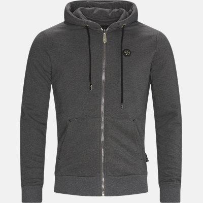 Hoodie Sweat Jacket Loose fit | Hoodie Sweat Jacket | Grå