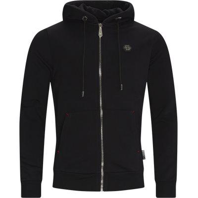 Hoodie Sweat Jacket Loose fit | Hoodie Sweat Jacket | Sort