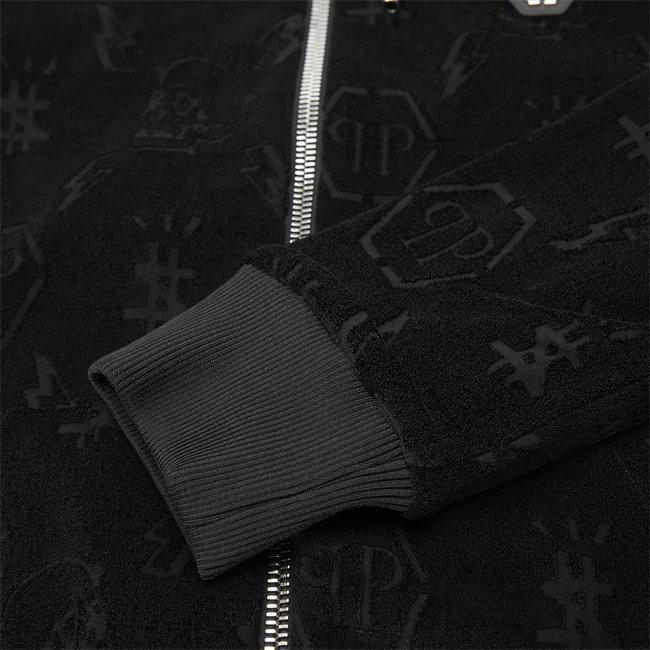 Hoodie Sweatjacket Monogram