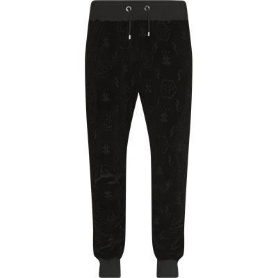 Jogging Trousers Monogram Regular fit | Jogging Trousers Monogram | Sort