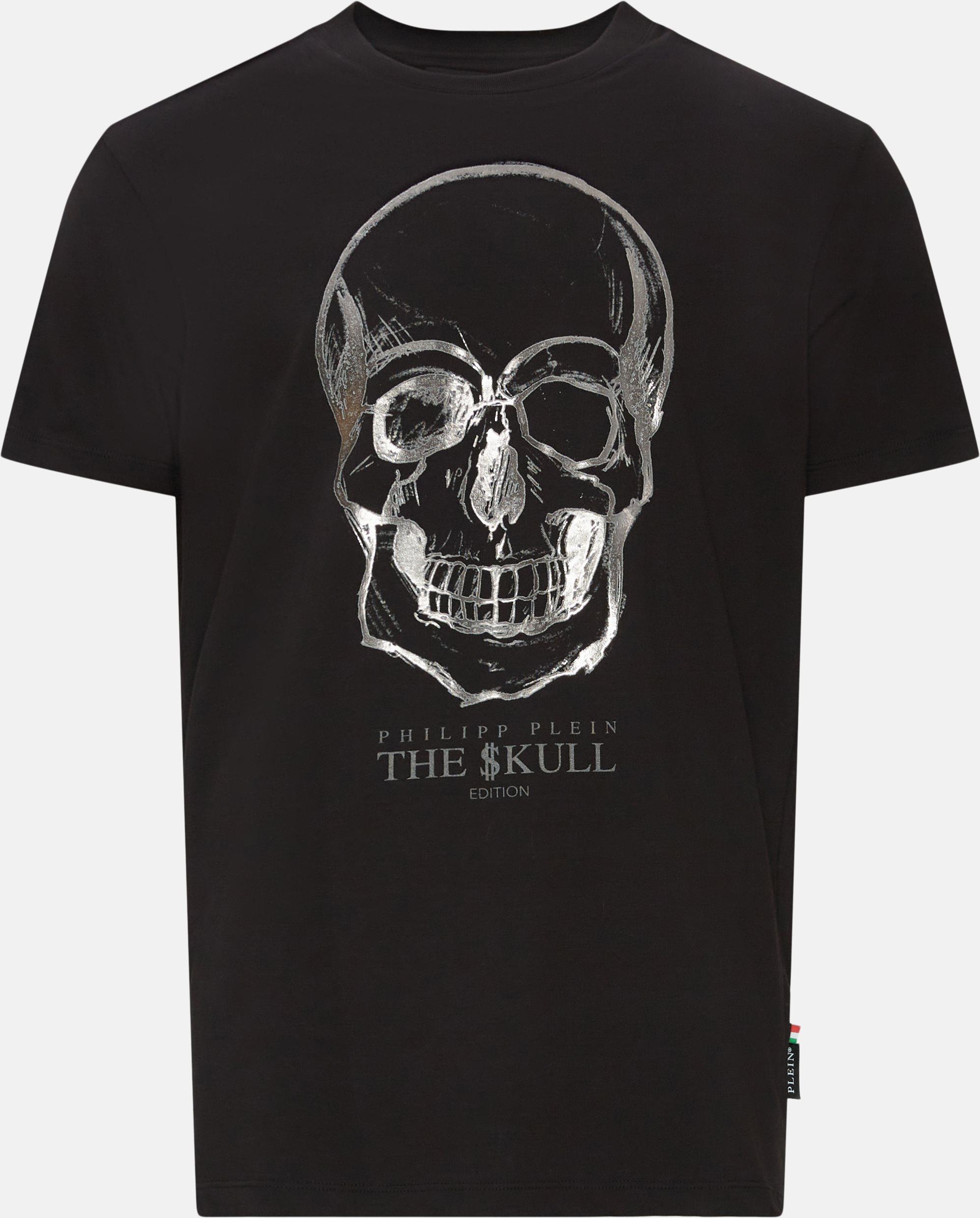 T-shirts - Regular fit - Black