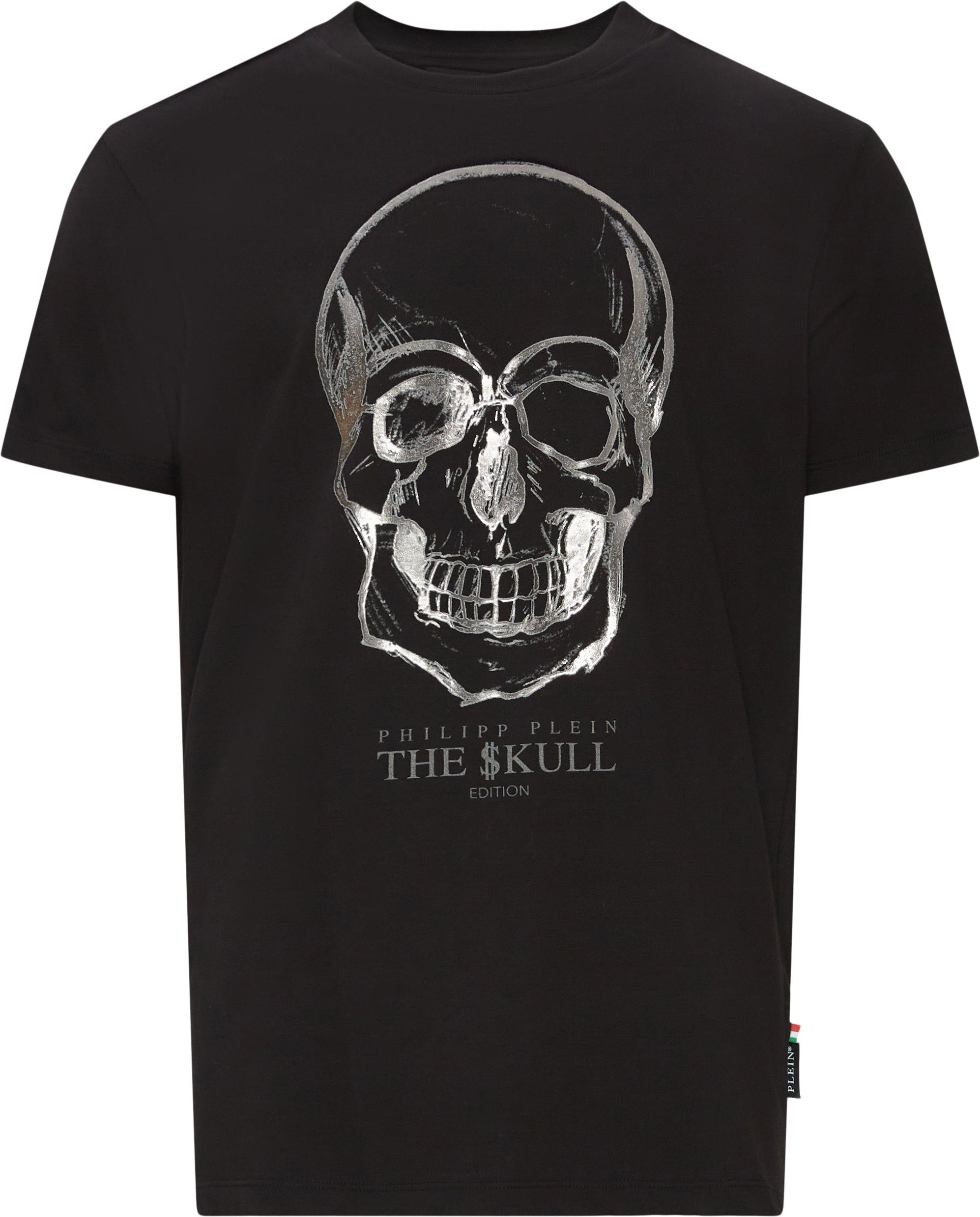 Skull Tee - T-shirts - Regular fit - Sort