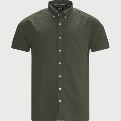 Kortærmet Skjorte Casual fit | Kortærmet Skjorte | Grøn