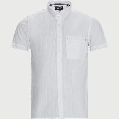 Kortærmet Skjorte Casual fit | Kortærmet Skjorte | Hvid