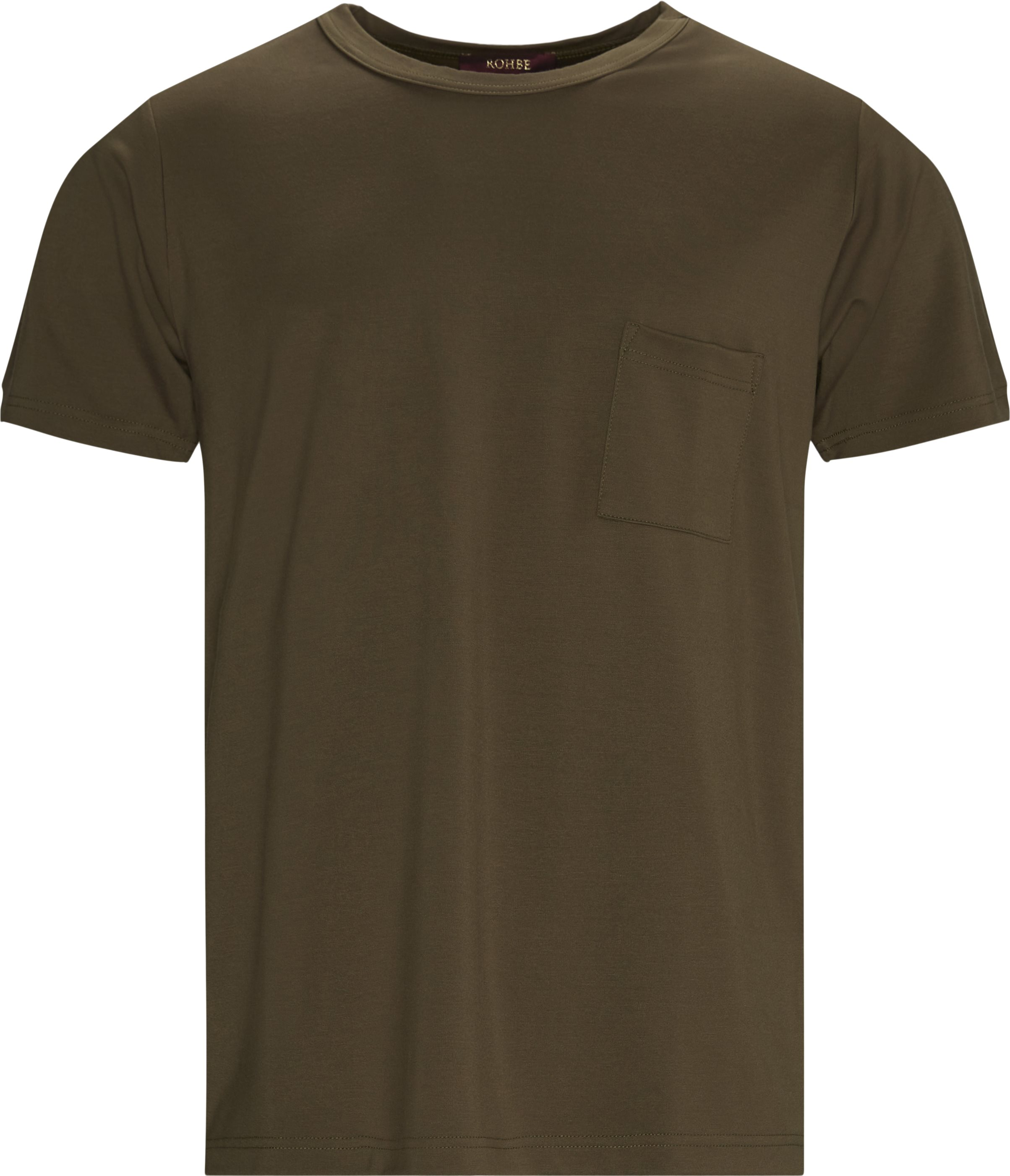 Justin Tee - T-shirts - Regular fit - Army