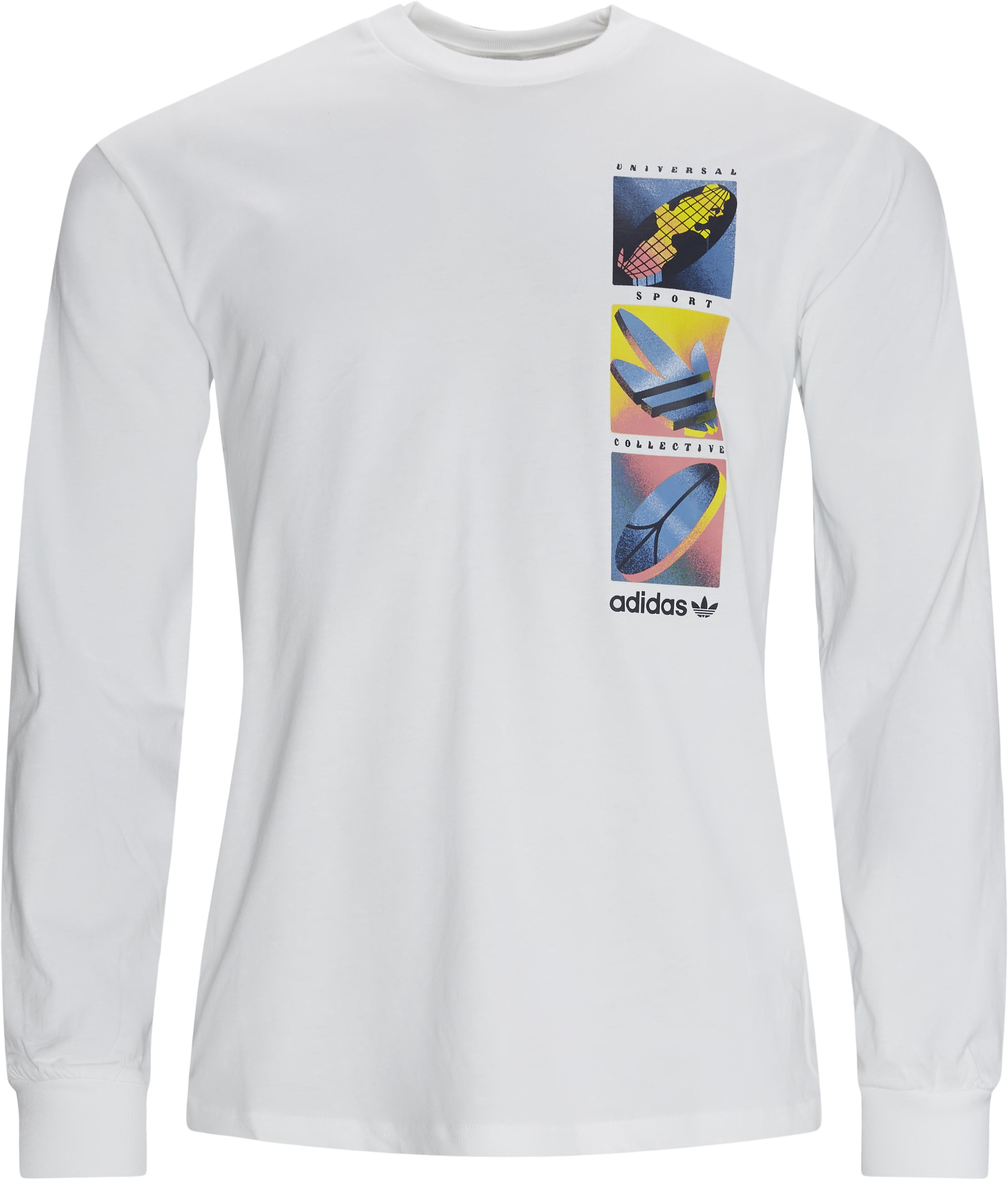 LS Summer Icons Tee  - T-shirts - Regular fit - Hvid